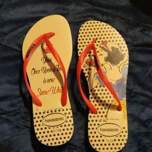 Disney Snow White Havaianas slippers